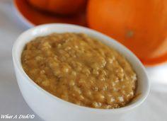 What A Dish!: Pumpkin Spice Steel Cut Oats (Slow Cooker)