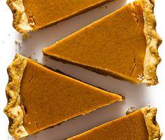 Grandma's Pumpkin Pie (Bon Appétit, November - Pumpkin Pie Recipes, Fall Recipes, Sweet Recipes, Holiday Recipes, Pumpkin Pies, Pie Dessert, Eat Dessert First, Dessert Recipes, Just Desserts