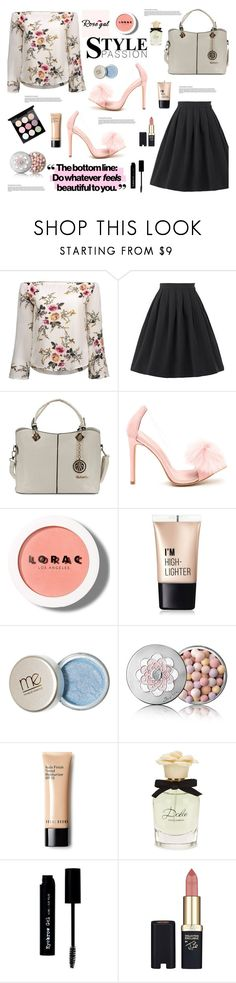 """Rosegal : Style Fashion"" by jasmina-fazlic ❤ liked on Polyvore featuring LORAC, Charlotte Russe, Guerlain, Dolce&Gabbana, The BrowGal and L'Oréal Paris"