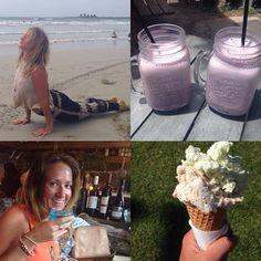 Day 5 Great Ocean Road-Trip: Early morning walks and yoga on the beach. Then a delicious lunch at @farmerswifeharvestcafe and poco artisan ice cream before a local port fairy pub crawl :-) #yogaeverydamnday #yoga #greatoceanroad #greatoceanroadtrip #portf