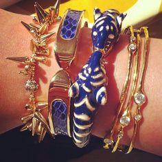 Bracelets by Stella & Dot. Photo by Alicia Hackney.