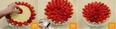 Crostata di fragole fresche