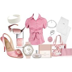 """""""Pretty Pink"""" by emmy38 on Polyvore"""