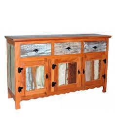 ca264c cadeira em madeira de demolição colorida rústica