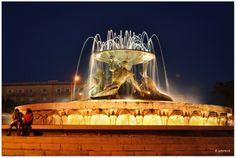 The Triton Fountaine, Valletta, Malta