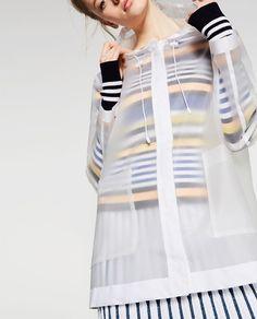 Image 5 of SHEER RAINCOAT from Zara