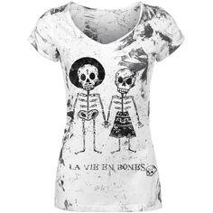 Skeleton Lovers T-shirt Design