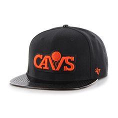 Cleveland Cavaliers Shinedown Captain Black 47 Brand Adjustable Hat