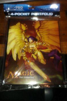 Ultra Pro MTG Akroma Angel of Wrath 4 Pocket Portfolio Binder New SEALED 81982   eBay