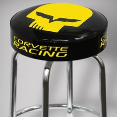 Corvette Racing Shop stool for only Proudly American Made