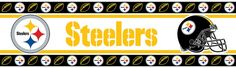 Pittsburgh Steelers Wallpaper Border