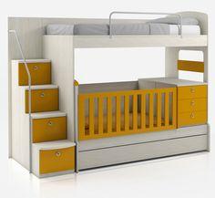 Dormitorios: Fotos de dormitorios Imágenes de habitaciones y recámaras, Diseño y Decoración: CAMAS CUCHETAS BUNK BEDS