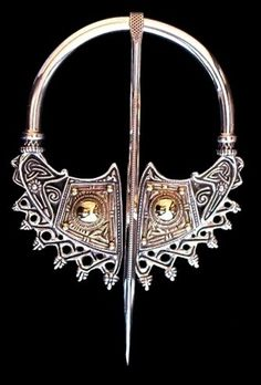 Hatteberg Brooch, Hatteberg, Norway, 9th Century