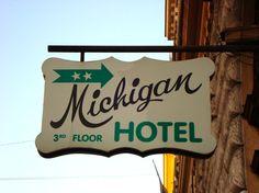 Hotel, motel, Michigan inn