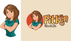 YouTube Channel logo {FitKen} by DORARPOL™