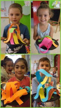 Creamos esculturas con papel. Mis cositas de infantil