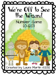 Number Game with OZ characters!