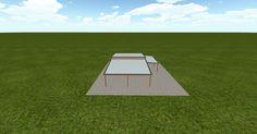 3D #architecture via @themuellerinc http://ift.tt/2cChf9A #barn #workshop #greenhouse #garage #DIY