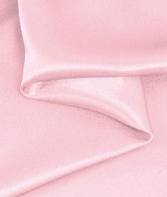 Pink Crepe Back Satin Fabric