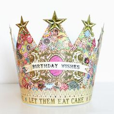 kino : BIRTHDAY WISHES CROWN (EAT CAKE)