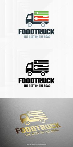 Food Truck Logo Template. Logo Templates. $29.00