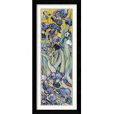 Found it at Wayfair - 'Iris Garden' by Vincent van Gogh Framed Graphic Art