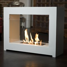 Modern Portable Fireplaces and Fire Lamps | DigsDigs | House ...