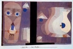 Los vasos de Paul Klee (1879-1940, Switzerland)
