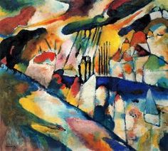 Wassily Kandinsky - Rainy Landschaft