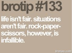 Bro tip #133
