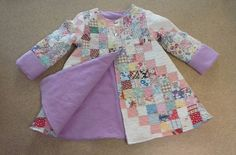 Quilt coat Vintage Quilt Upcycled Quilt by LittleRoseRabbit