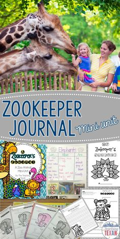 Do you teach a zoo or animal unit in Kindergarten or First Grade?  This is a fantastic resource for adding writing and research into your science unit!