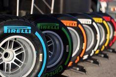 Pirelli F1 Tyres - 2016