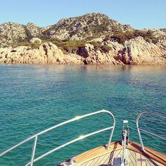 #sardinia #sea #mare #sailing #boat #barca #water #blue #sun #heat #summer #estate @ Capo Ceraso