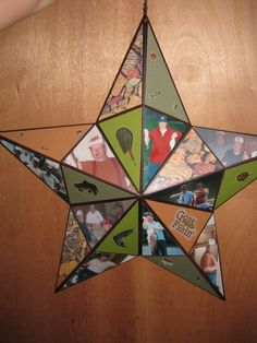 personalized fishing themed star