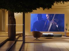 Sony Global - Life Space UX | 4K Ultra Short Throw Projector