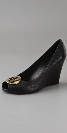 Tory Burch Wedge. Simple and basic, perfect