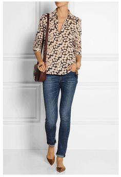 Fall 2014: Printed blouse