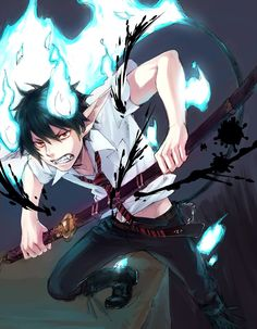 Rin. Blue Exorcist ~~