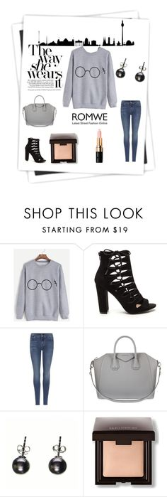"""""""She has it"""" by krystalkm-7 ❤ liked on Polyvore featuring 7 For All Mankind, Givenchy, Black, Laura Mercier and Bobbi Brown Cosmetics"""