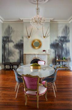 Una casa decorada de forma hermosa y atrevida http://patriciaalberca.blogspot.com.es/