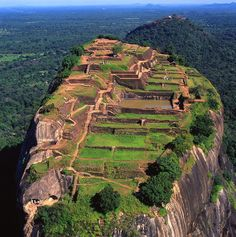 Sigiriya - Sri Lanka; Quite the climb, but totally worth it! :) #lka #SriLanka #VisitSriLanka