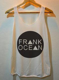 Frank Ocean Hipster Street Dope Hype CC Swag Punk Rock Tank Top T-Shirt Vest Ladies Freesize on Etsy, $12.99