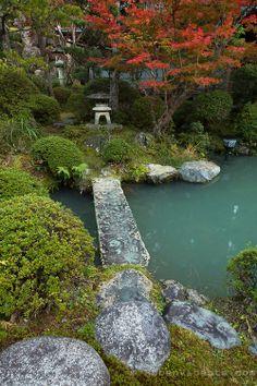 Ekoin Japanese garden - Koyasan, Japan