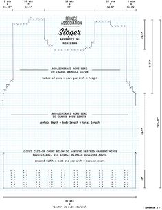 Resizing a pattern (written for Sloper but can apply to other knits)