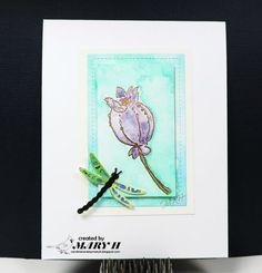 Carolina Cards by Mary H.: Altenew Botanicals and Watercoloring