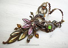 Hey, I found this really awesome Etsy listing at https://www.etsy.com/listing/545915506/autumn-soutache-necklace-gift-for-her