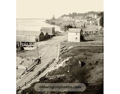 Yaquina Bay, Newport, Oregon 1895
