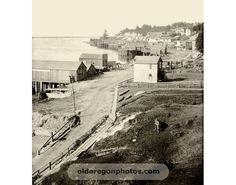 Yaquina Bay, Newport, Oregon 1895