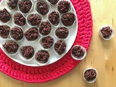 il grembiule di mirtilla - dolcetti al cioccolato, quinoa soffiata e semi di chia
